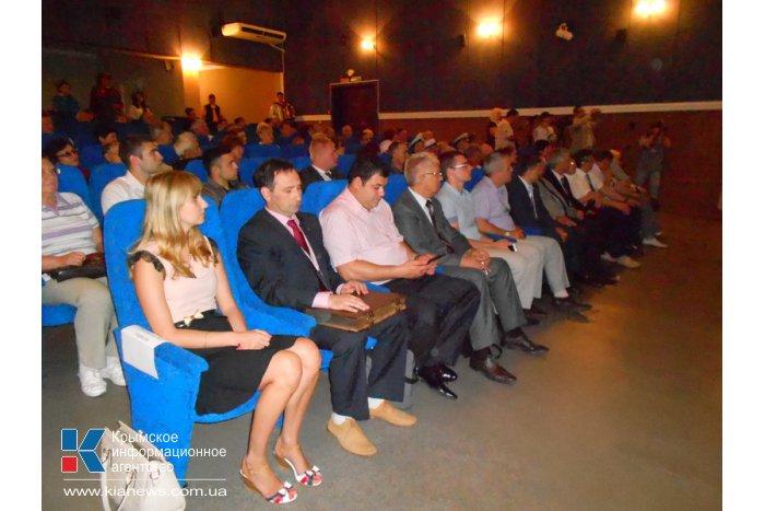 В Алуште представили видеолетопись достижений