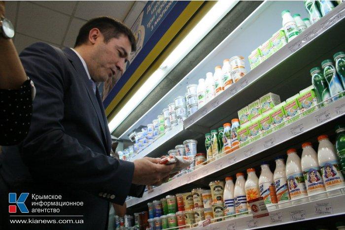 Все торговые сети Крыма перешли на рубли