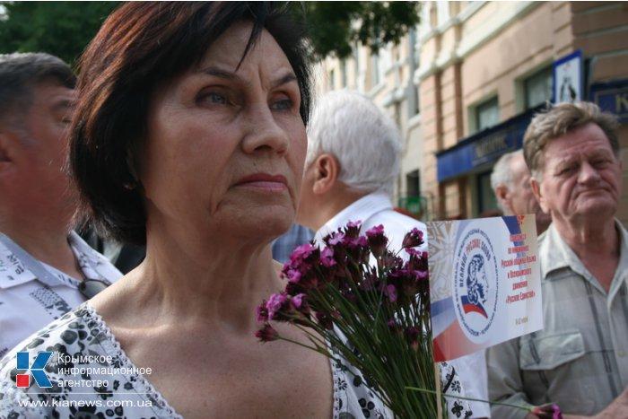 В Симферополе стартовал VIII международный фестиваль «Великое русское слово»