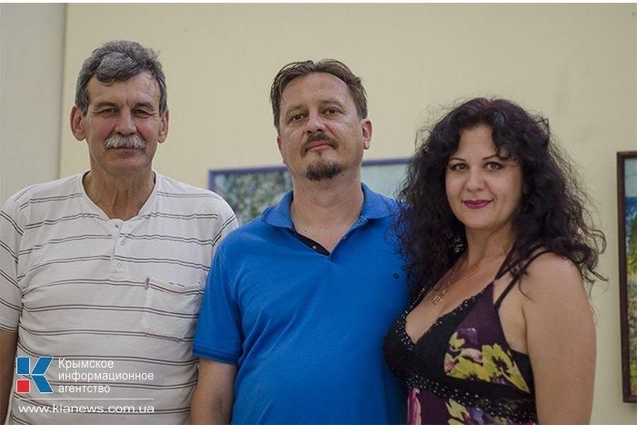 В Севастополе открылась выставка картин Всеволода Сухоруких