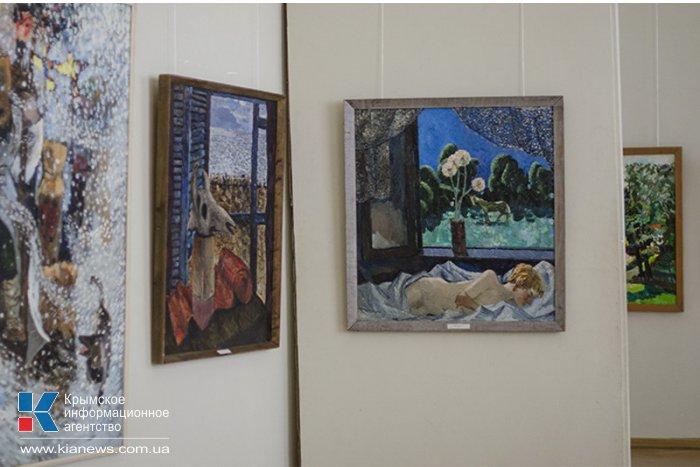 В Севастополе представили картины Геннадия Арефьева