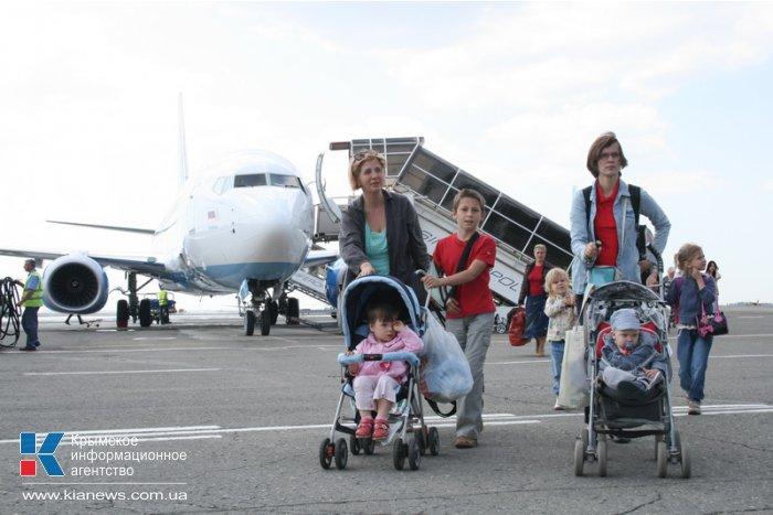 В Симферополь прилетел первый рейс авиакомпании «Добролет»