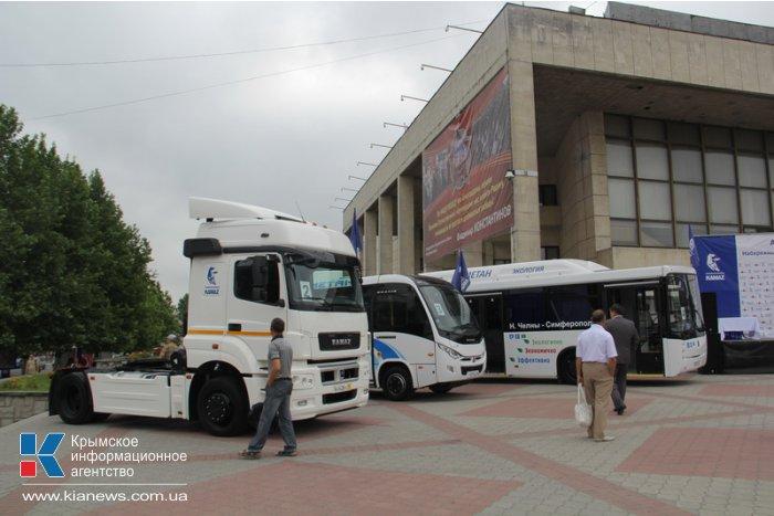 В Симферополь прибыл автопробег «КАМАЗа»
