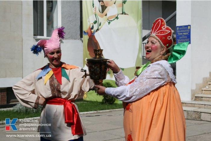 В детском саду Симферополя отметили День России
