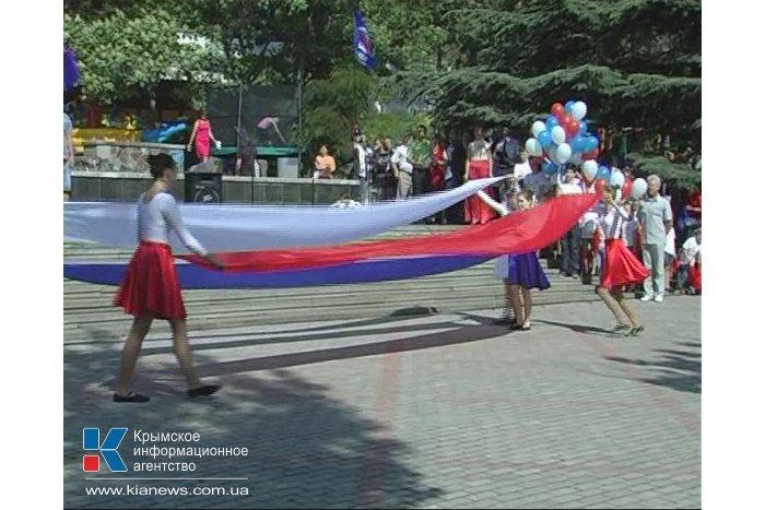 В Феодосии День России отметили кроссом поколений