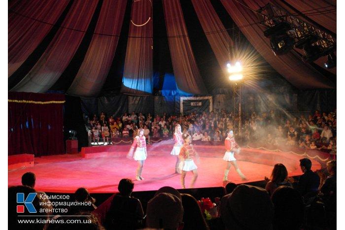В Ялте начал работать Московский цирк Юрия Никулина