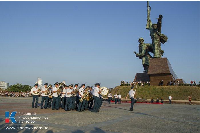В Севастополе завершился фестиваль военных оркестров «Война и мир»