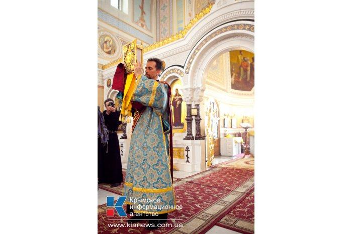 В Севастополь привезли чудотворную икону