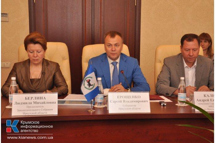 Совмин Крыма подписал соглашение о сотрудничестве с Иркутской областью