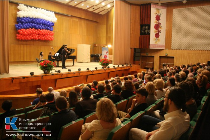 В Симферополе прошел благотворительный концерт Дмитрия Когана