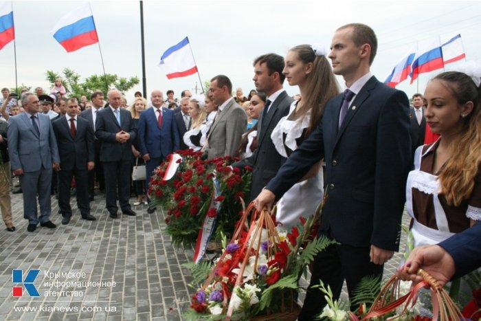 В Крыму реконструировали мемориальный комплекс Девяти Героев Советского Союза