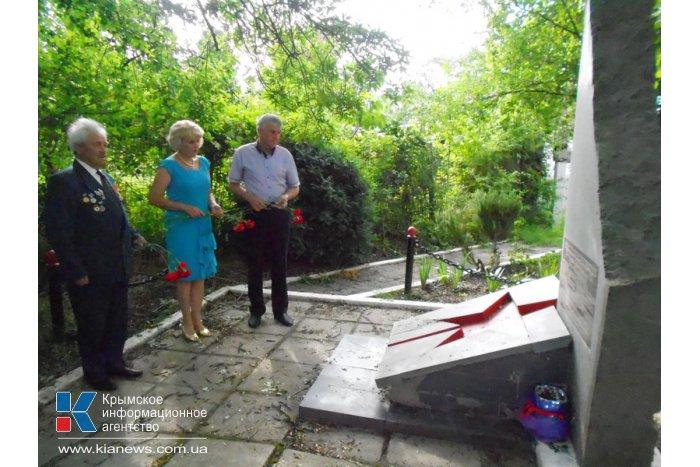 В Алуште почтили память погибших в годы Великой Отечественной войны