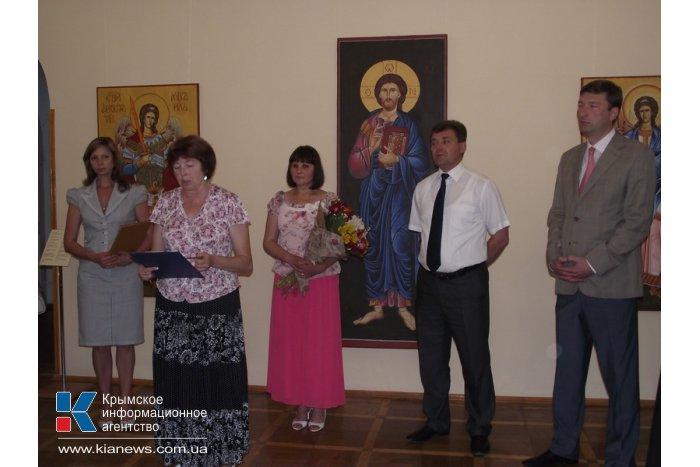 В Симферополе открылась выставка икон