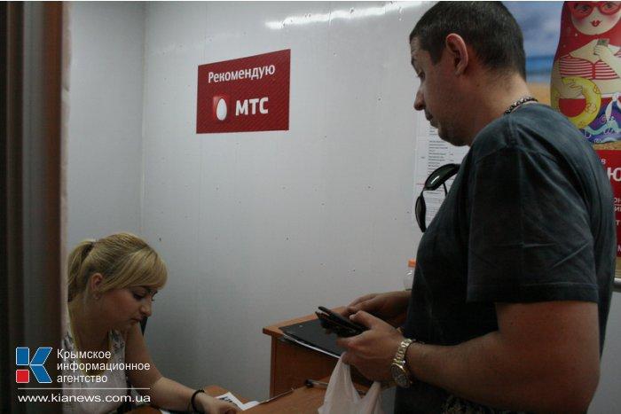 Симферопольцы продолжают активно скупать российские сим-карты