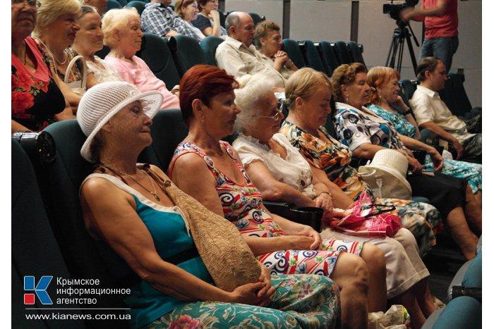 В Ялте открылся кинофестиваль имени Михаила Пуговкина