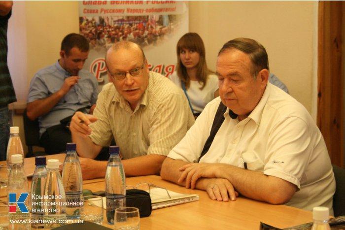 Аксенов возглавил крымское отделение Российского военно-исторического общества