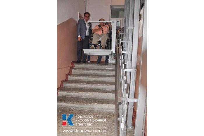 Здание правительства Крыма стало доступным для инвалидов