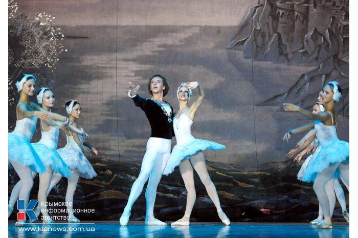 В Ялте состоялся спектакль «Лебединое озеро»