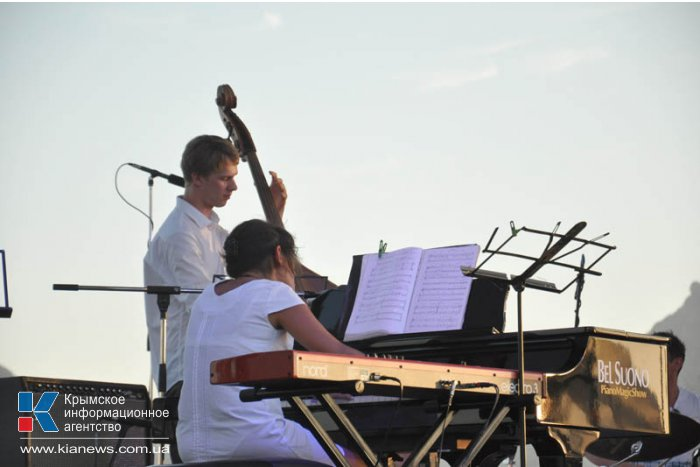 В Коктебеле прошел музыкальный фестиваль «Наш Джаз»