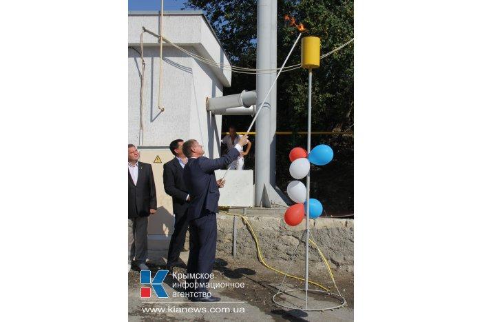 Южнобережное село подключили к газоснабжению