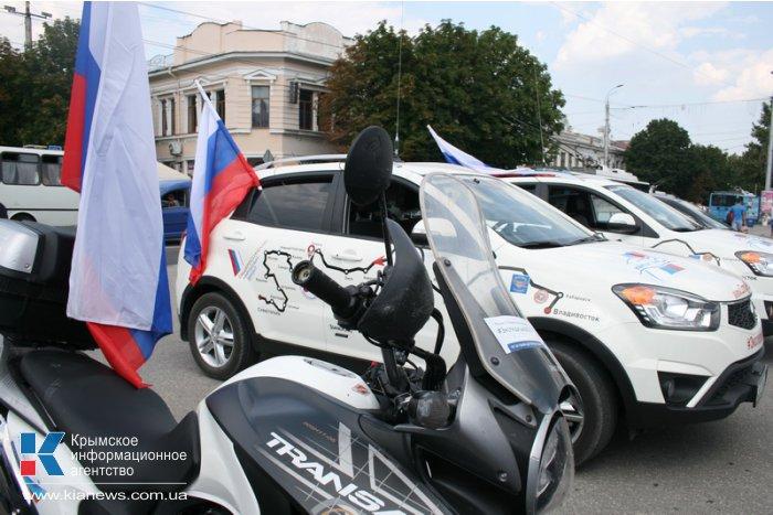 Участники всероссийского автопробега оценили качество дорог в Крыму