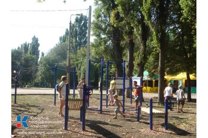 В Симферополе открыли площадку ГТО