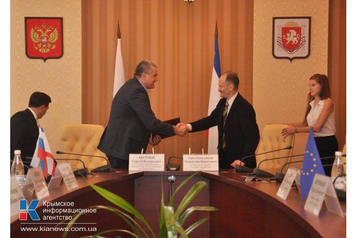 И.о. Главы Крыма встретился с депутатом Европарламента