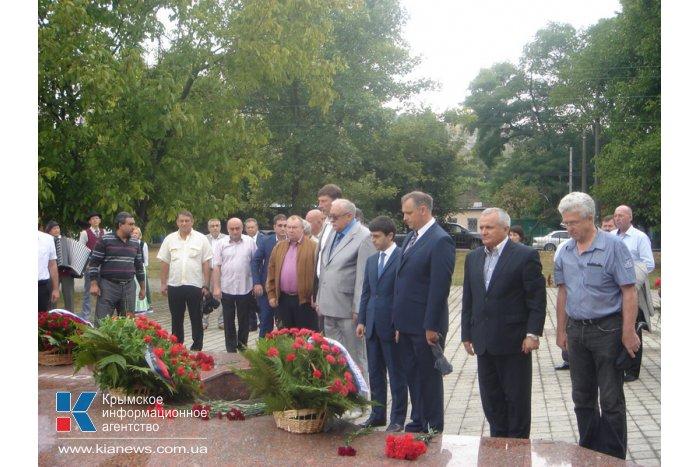 В Симферополе прошли памятные мероприятия, посвященные годовщине депортации немцев