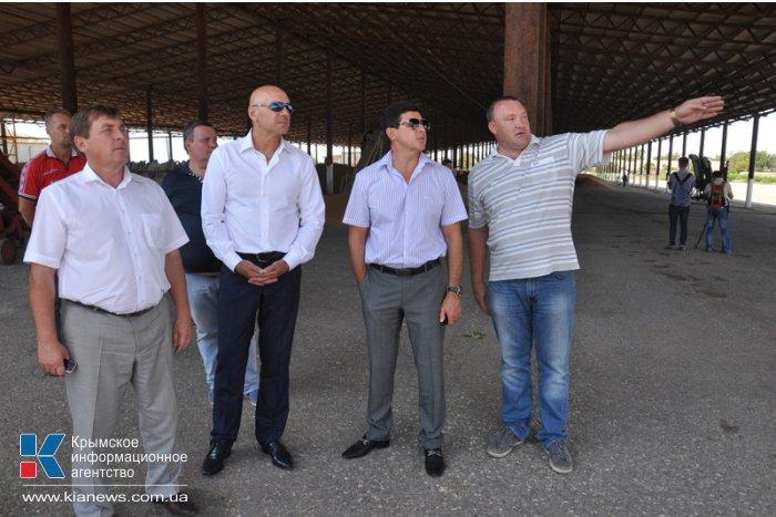 На молочную ферму в Первомайском районе к ноябрю прибудет первая тысяча коров