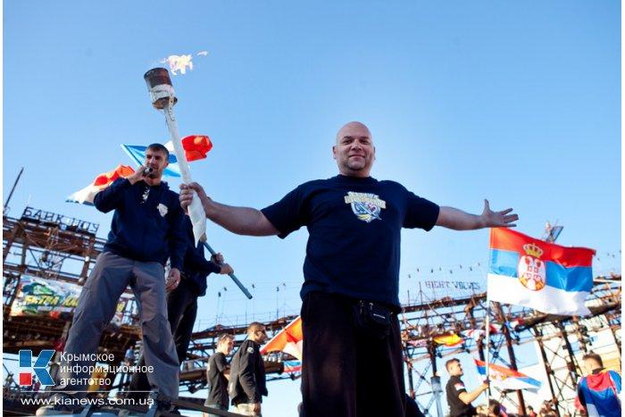 В Севастополе прошел фестиваль каскадеров