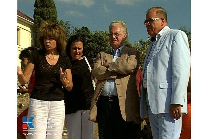 Директор Эрмитажа посетил Херсонес