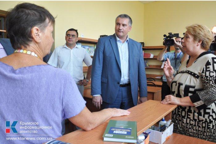Глава правительства Крыма посетил Кировский район