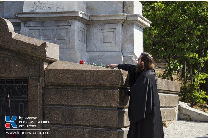 В Севастополе почтили память героев Крымской войны