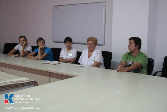 Сотрудников отелей Крыма обучили работе с особыми детьми