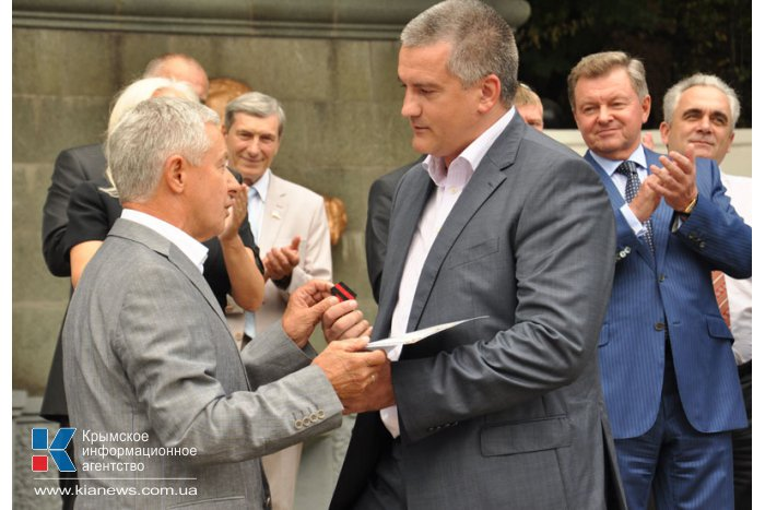 Под Алуштой открыли бюст Кутузову