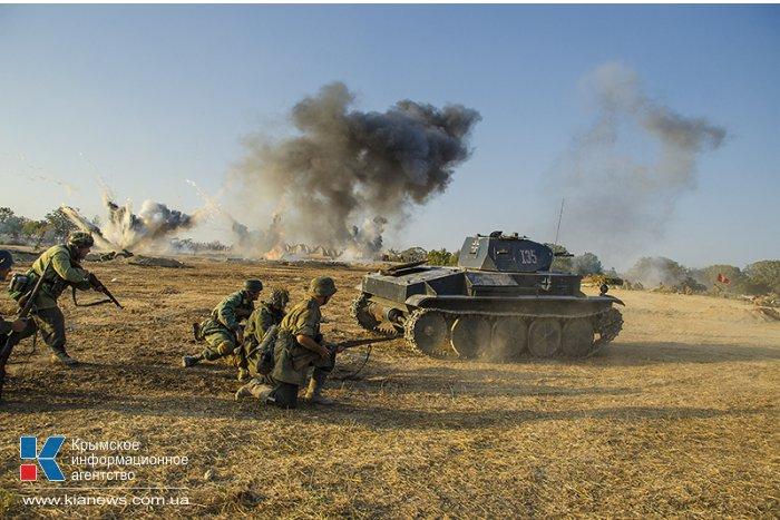 Крымский военно-исторический фестиваль завершился масштабными реконструкциями
