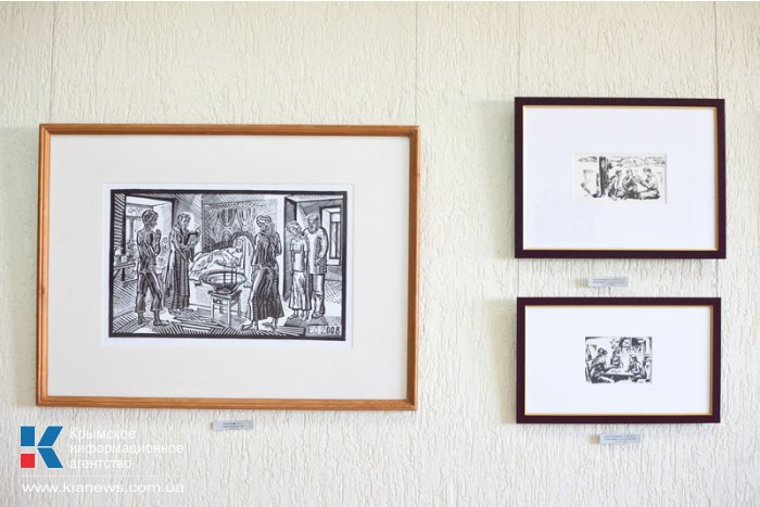 В Севастополе открылась выставка художников «Человек читающий»