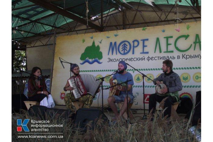 В Крыму стартовал экологический фестиваль «Море леса»