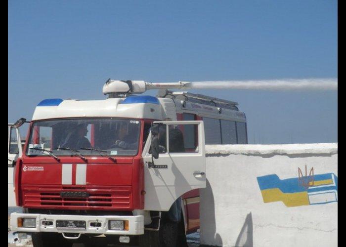 Севастополь получил два пожарных автомобиля