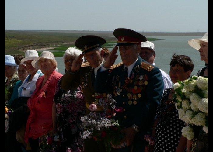 В Ленинском районе перезахоронили останки 40 советских воинов
