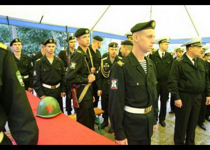 В Крыму перезахоронили неизвестного солдата