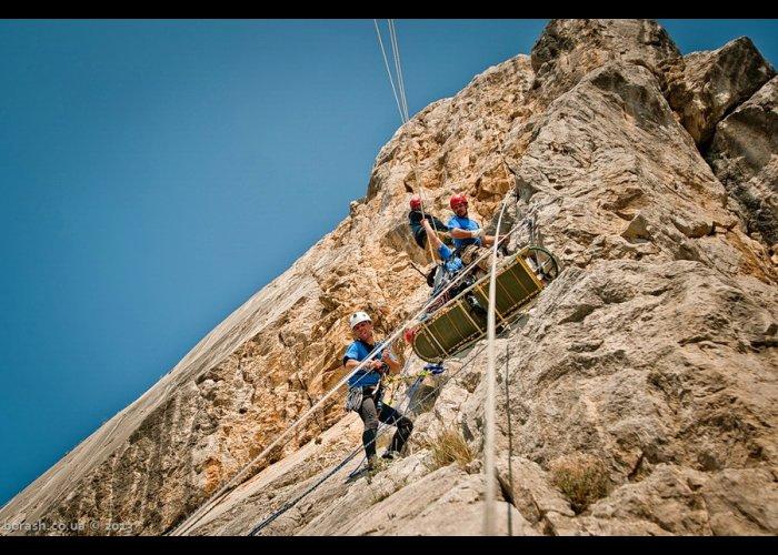 Под Севастополем завершились соревнования горных спасателей