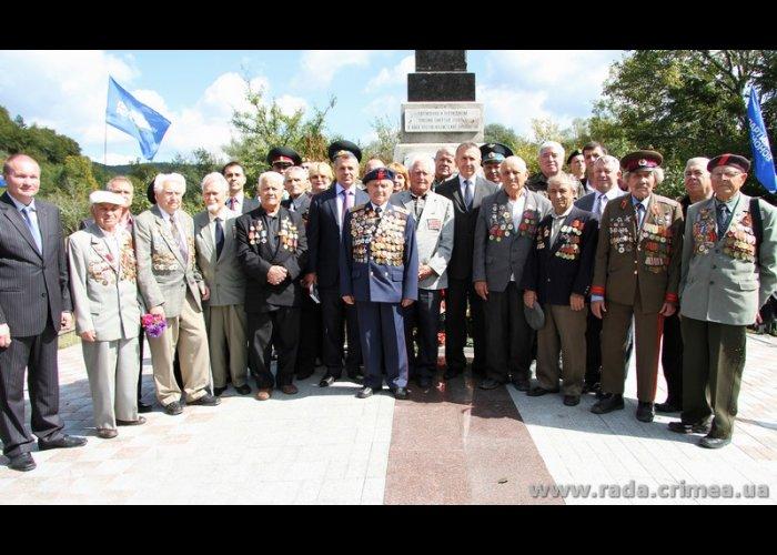 Крымский спикер открыл в Симферопольском районе отреставрированный памятник