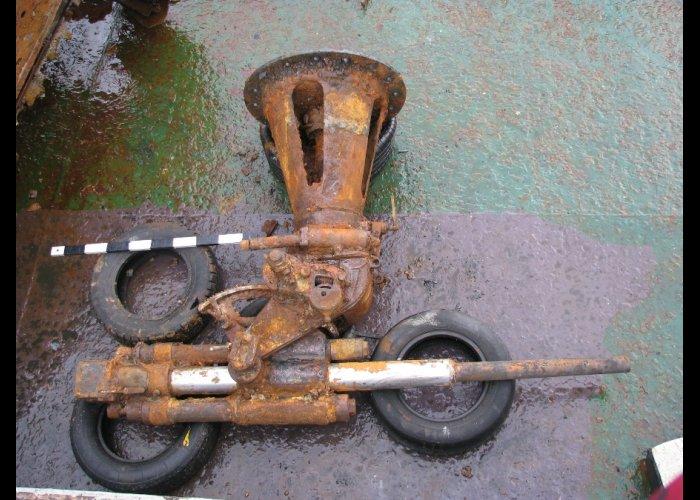 Феодосийский музей получит пушку с затонувшей у Тарханкута подлодки
