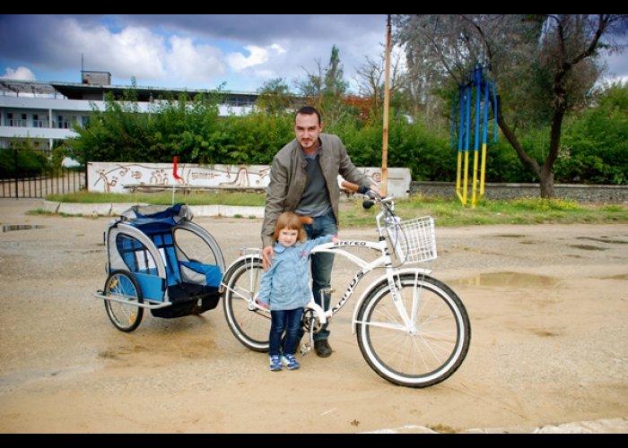 В Евпатории провели велопикник
