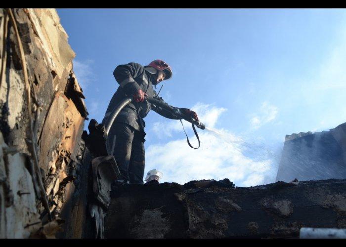 В Гаспре из-за пожара эвакуировали 65 человек