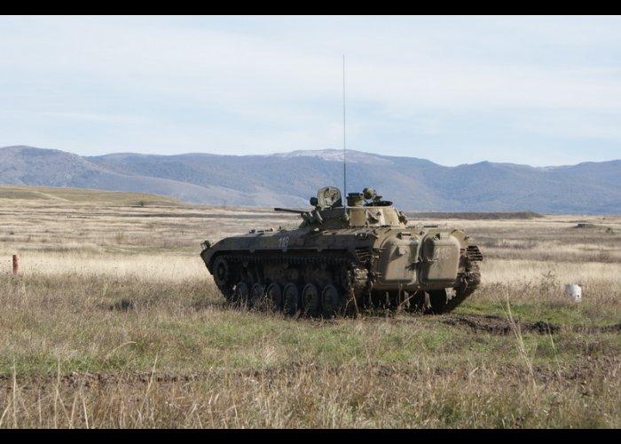 На Ангарском перевале проходят занятия по боевой подготовке