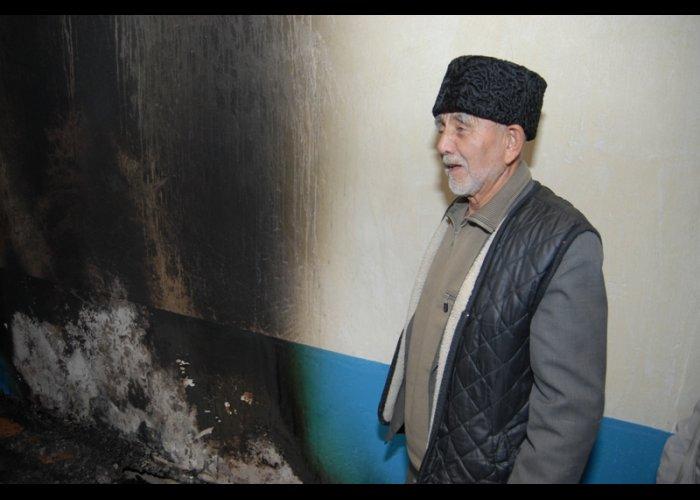 В Красногвардейском районе случился пожар в мечети