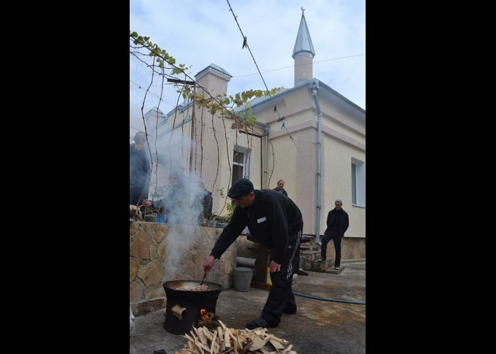 В Симферопольской колонии отметили Курбан-байрам