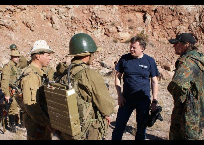 В Крыму снимают фильм про войну в Афганистане